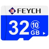 FEYCH 32G Class 10 Micro TF Flash Memory Card Fast Write / Read for Samsung Galaxy Note 5 S6 S6 edge Xiaomi Huawei HTC Smartphone PC Tablet Camera MP3 MP4 High Efficiency