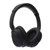 BH519 ANC Active Noise Cancelling Bluetooth Headphone CSR V4.0 Wireless Wired Handsfree Earphone Adjustable Foldable Over Ear Isolation Headset Auricular with Mic for Mobile Phone PC Tablet Xbox