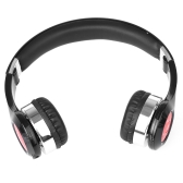 New Bee Bluetooth V3.0 Stereo Headphone Stretchable Foldable Wireless Bluetooth Headset 3.5mm AUX