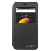 CUBOT 恐竜用スタンド携帯電話カバー付きのオリジナル エレガントなフリップ カバー シェル PU レザー保護ケース本フリップ