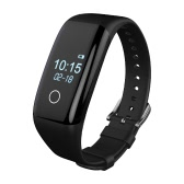 "Sports Smart Band Wristband Watch 0.66"" OLED Bluetooth 4.0 Bracelet Heart Rate Pedometer Sleep Monitor Call Message Notification Alarm Clock Reminder Fitness for iPhone Smartphone Android 4.3 iOS 7.0 And Above"