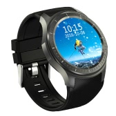 DM368 Smart Watch 3G WCDMA Watch Phone 1.39inch AMOLED Screen 400*400pixel MTK6580 Quad Core 1.3GHz CPU Android 5.1 OS 512MB RAM 8GB ROM 400mAh Battery BT4.0 GPS WiFi Pedometer Heart-rate Call Reminder Smartwatch