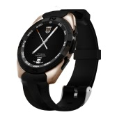 NO.1 G5 Smartwatch 1.2inch IPS Touch Screen 240*240px 316L Stainless Steel MTK2502C CPU Bluetooth 4.0 380mAh Battery Pedometer Heart-rate Sleep Monitor Remote Camera