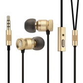 GGMM Nightingale Full Metal In-ear Earphone Earbud Portable Sports Stereo Headphone Running Headset Earpiece Hands-free 3.5mm with Mic for iPhone 7 Plus Xiaomi Samsung S7 edge iPad
