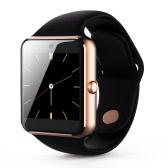 Q7Sプラス2G GSMハートレートスマートBTスポーツ腕時計のリストバンドブレスレット通話通知iPhoneのX / 8のための歩数計アラーム睡眠モニターサムスンノート8 / S8 +アンドロイドiOS
