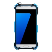 Original R-JUST Transformer Carbon Fiber Metal Aluminum Frame Gundam Outdoor Climbing Case Cover for Samsung S7