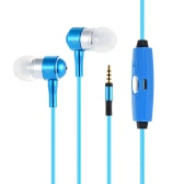 DP-0174 EL Light Luminous In-ear Earphone Earbud Portable Sports Stereo Headphone Running Headset Earpiece Hands-free 3.5mm with Mic for iPhone 6 6S Plus 7 Plus Samsung S6 S6 edge S7 edge