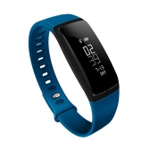 V07 Smart Band 0.87inch OLED Screen Bluetooth Sports Wristband Blood Pressure Test Heart-rate Monitor Pedometer Message Push Sleep Monitor Call Alert Intelligent Sports Bracelet for iPhone 7 6S plus Samsung S6 S7 Plus Xiaomi Huawei iOS Android Smartphones
