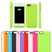 "3200mAh External Backup Battery Charger Case Cover Pack Power Bank Rechargeable Portable for Apple iPhone 6 4.7"" Inch with Stand"