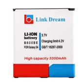 Link Dream  3.7V 3300mAh Rechargeable Li-ion Battery High Capacity Replacement for B600BE Galaxy S4 I9500 i545 i337