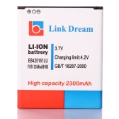 三星銀河 EB425161LU SIII 3 ミニ GT i8190 I8160 のリンク夢 3.7 v 2300 mah 充電式リチウム イオン バッテリー交換