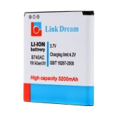 Link Dream 3.7V 3200mAh Rechargeable Li-ion Battery Replacement for Samsung SIV Zoom / C101 / C1010