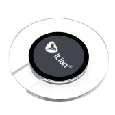 Itian Qi Standard Circular Wireless Charger with LED Indicator for Samsung Galaxy S6 S6 Edge Plus Nokia Lumia LG