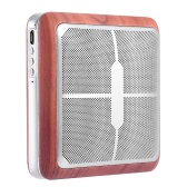 Q8 Portable Aluminum Hi-Fi Wireless Bluetooth Speaker CSR BT4.0+EDR Stereo Speaker Hands-free Calling Built-in Microphone with Lanyard for iPhone Samsung Smartphones and Mp3 Players
