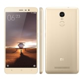 "Original Xiaomi Redmi Note 3  5.5"" FHD 4G Metal Body Fingerprint ID Mobile Phone MTK Helio X10 64Bit Octa Core 3GB RAM 32GB ROM 13MP 4000mAh Battery"