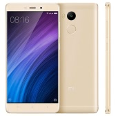 Xiaomi Mi Redmi 4 Smartphone 4G LTE Phone 5.0inch HD Screen 1280*720pixel Snapdragon 430 Octa-core 1.4GHz Processor 2GB RAM 16GB ROM MIUI 8 OS 13.0MP+5.0MP Cameras 4100mAh Battery Dual Sim Fingerprint GPS WiFi Cellphone