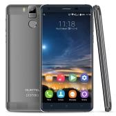 """OUKITEL K6000 プロ 4 G LTE FDD MTK6753 64 ビット オクタ コア スマート フォン 5.5""""2.5 D FHD 1920 * 1080 ピクセル画面 Android 6.0 3 GB の RAM + 32 ギガバイト ROM 8 mp + 16 mp デュアル カメラ合金フレーム秒指紋 OTG HotKnot スマート ジェスチャー電力節約モード"""