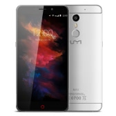 UMI MAX Smartphone 4G FDD-LTE 3G WCDMA Helio P10 64-bit Octa Core 5.5 Inches 2.5D FHD 1920 * 1080 Pixels Screen Android 6.0 3GB RAM+16GB ROM 5MP+13MP Dual Cameras Metal Body 360 degree 0.1-0.3S Fingerprint ID Unlock HiFi Music OTG Type C Dual-band WiFi