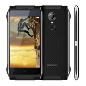 "HOMTOM HT20 IP68 Waterproof Smartphone 4G FDD-LTE 3G WCDMA Dustproof Shockproof Rugged Outdoor Drfy Android 6.0 OS Quad Core MT6737 4.7"" Screen 1.3GHz 2GB RAM 16GB ROM 2MP 8MP Dual Cameras Smart Gestures Wake Gesture Fingerprint Identification"
