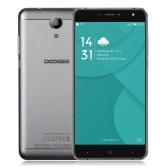 DOOGEE X7 Pro Smartphone 4G FDD-LTE 3G WCDMA MTK6737 64-bit Quad Core 6.0 Inches IPS HD 1280 * 720 Pixels Screen Android 6.0 2G+16G 5MP+8MP Dual Cameras Smart Gesture OTG