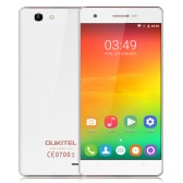OUKITEL C4 Smartphone 4G FDD-LTE 3G WCDMA MTK6737 Quad Core 64-bit 1.3GHz 5.0 Inches HD 1280 * 720 Pixels Screen Android 6.0 Marshmallow 1GB RAM+8GB ROM 5MP+8MP Dual Cameras Ultra-thin WiFi GPS OTA FM Radio