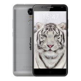 "Ulefone Tiger 4G FDD-LTE Smartphone Android 6.0 MTK6737 64-bit Quad Core 5.5"" HD 1280*720pixels Screen 2GB RAM 16GB ROM 5MP 8MP Dual Cameras Fingerprint Smart Gesture OTG Brushed Metal Body Big 4200mAh Battery"