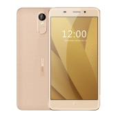 LEAGOO M5 Plus Smartphone 4G FDD-LTE 3G WCDMA MTK6737 2.5D 5.5 Inches HD 1280 * 720 Pixels Screen FREEME OS 6.0 2GB+16GB 5MP+13MP Dual Cameras Metal Frame 0.19s Fingerprint Unlock Smart Gesture OTG 2500mAh