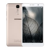 DOOGEE Y6 Max Smartphone 4G FDD-LTE Metal Body Cellphone 6.5inch FHD AUO Screen 1920*1080px MTK6750 64Bit Octa-core CPU 3GB RAM 32GB ROM Android 6.0 OS 13.0MP+5.0MP Camera 4300mAh Battery Fingerprint ID Hotknot GPS HiFi Phone
