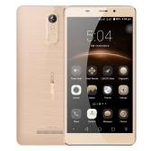 LEAGOO M8 Smartphone 3G WCDMA Phone 5.7inch HD IPS Screen 1280*720pixel MTK6580A Quad Core 1.3GHz CPU 2GB RAM 16GB ROM Freeme OS 6.0 System 13.0MP+8.0MP Cameras 3500mAh Battery Fingerprint ID GPS Mobile Phone