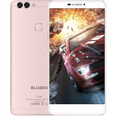 BLUBOO Dual Fingerprint Smartphone 4G-LTE MTK6737T 64-bit 1.5GHz Quad Core 5.5 Inches FHD 1920*1080P 2G+16G 8MP Front + 2MP 13MP Dual Back Cameras Android 6.0 Ultrathin Body 3000mAh WiFi Smart Gesture OTG