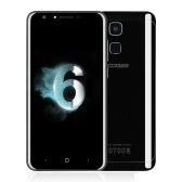 DOOGEE Y6ピアノブラックスマートフォン4G FDD-LTE携帯電話5.5inch HD画面1280 * 720px MTK6750 64ビットオクタコアCPU 4ギガバイトのRAM 64ギガバイトROMアンドロイド6.0 OS 13.0MP + 8.0MPデュアルカメラ3200mAhバッテリー指紋ID Hotknot OTAのGPS電話