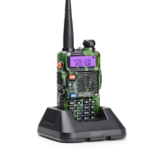 BAOFENG UV-5R Interphone Talkie Walkie Radio FM bidirectionnelle Transmetteur FM bi-bande DTMF Encodé VOX Alarme LED Lampe de poche Verrouillage