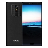 MAZE COMET Genuine Leather 5.7-inch 18:9 Bezel-less Mobile Phone 4G-LTE Fingerprint Smartphone 4GB RAM 64GB ROM