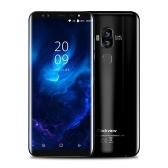 Blackview S8携帯電話5.7インチ18:9湾曲ベゼルレス全画面4G-LTE指紋4カメラスマートフォン4GB RAM 64GB ROM