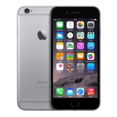 Apple iPhone 6 Unlocked Smartphone 4.7inch IPS Multi-touch Screen 1334*750pixel 4G FDD-LTE 64Bit A8 Chip M8 Motion Coprocessor iOS 9.3.2 OS 1GB RAM 16GB ROM 1.2MP 8.0MP Dual Cameras 1810mAh Battery Nano-SIM Touch ID FaceTime NFC
