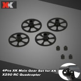 4Pcs Original XK X250-06 Main Gear Set for XK X250 RC Quadcopter