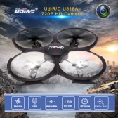 Original Upgraded UdiR/C U818A HD 6-Axis Gyro RC Quadcopter RTF UFO with 720P HD Camera Headless Mode and One-key Return