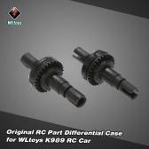 2Pcs Original WLtoys K989-26 Differential Case for WLtoys K979 K989 K999 1/28 Scale RC Car