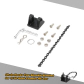 1 Set Chain Hooks Tow Shackle Bracket for 1/10 RC4WD D90 D110 SCX10 Rock Crawler RC Car