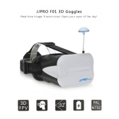 Original JJRC JJPRO F01 5.8G 64CH Raceband 3D Goggles Wireless FPV Glasses with 5in VR Monitor for JJRC H6D H8D H11D JJPRO P175 P200 QAV250 RC Quadcopter Racing Drone