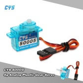 CYS-S0005 5g Light Weight Plastic Gear Micro Analog Standard Servo for RC Fixed-wing Aircraft