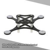 90mm Carbon Fiber Frame Kit for DIY Micro FPV Racing Quadcopter Support 8520 Coreless Motor
