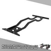 RC Crawler Metal Frame Girder for 1/10 Axial SCX10 RC4WD D90 JK Wrangler Rock Crawler RC Car