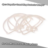 4pcs Propeller Guard Ring Protector Bumper for GoolRC G90 Pro RC FPV Racing Drone Quadcopter