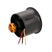 QX-MOTOR 70mm 6 Blades EDF High Performance QF2827-3500KV 3-6S 9N6P Ducted Brushless Motor for RC Airplane Fixed-wing