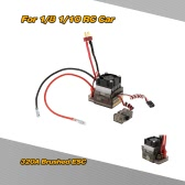 320A 2~4S LiPo Battery Brushed ESC Electronic Speed Controller with 5.6V/2A BEC for 1/8 1/10 Off-road Monster Truck
