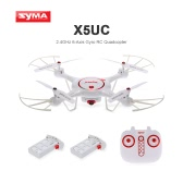 Original Syma X5UC 2.0MP HD Camera Drone with Barometer Set Height Function and One Extra Battery RC Quadcopter RTF