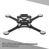 120mm Carbon Fiber Frame Kit for DIY Micro FPV Racing Quadcopter Support 8520 Coreless Motor