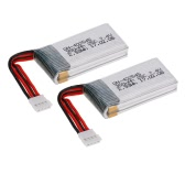 2pcs 7.4V 350mAh Rechargeable LiPo Battery for GTENG T905F T905W FPV Quadcopter