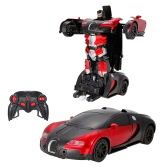 1/12 Remote Control Transformable Car Gesture Sensing Control Transformation Robot RC Toy Kids Children Gift